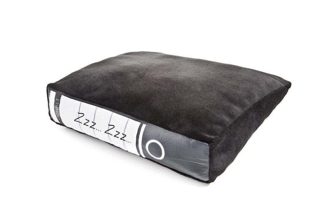 kissen in aktenordner optik. Black Bedroom Furniture Sets. Home Design Ideas