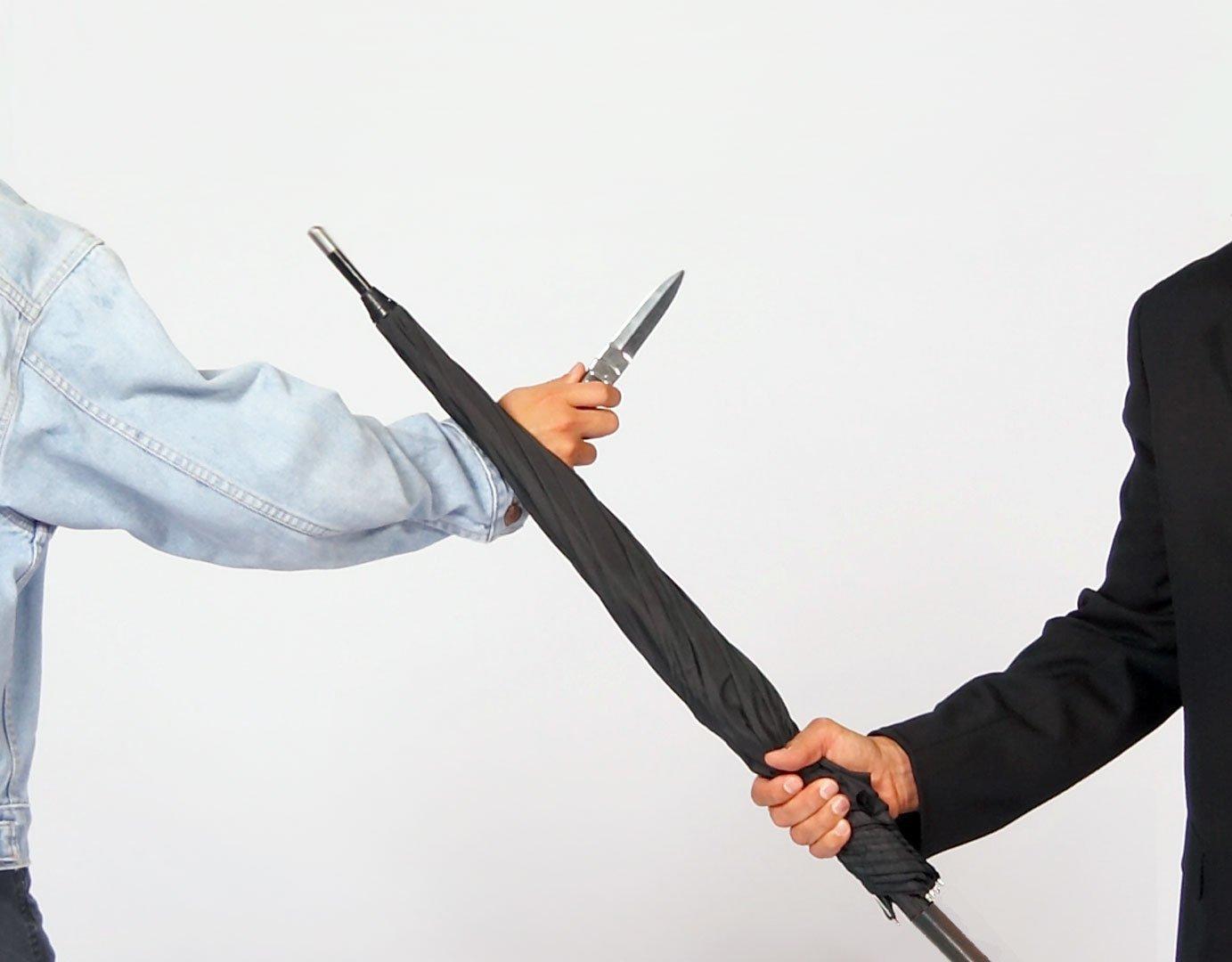 Defense Regenschirm Selbstverteidigung