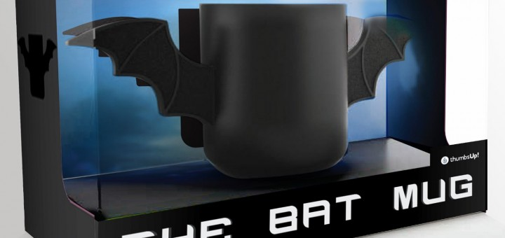 Batman tasse Flügel logo